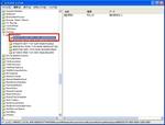 WindowsXP/Outlook2003での例:レジストリ画面1