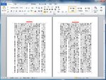 Word2010の設定後のサンプル