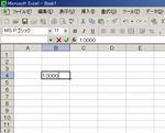 Excel入力画面1