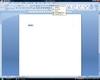 Word2007の画面